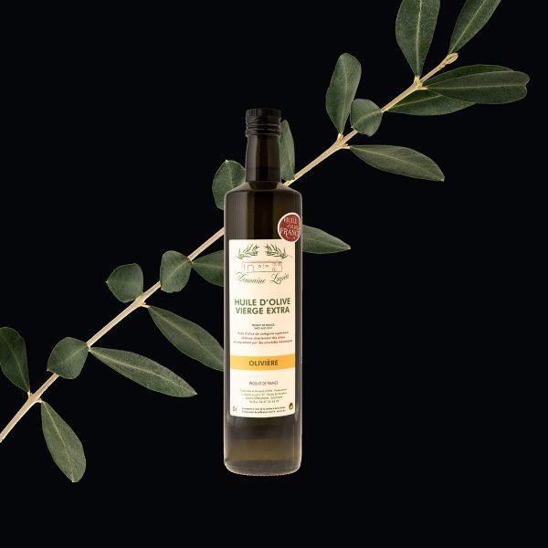Huile d'olive Béziers du domaine Lupia variété olivière